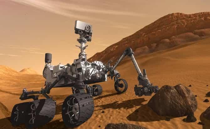 Nasa, robots, extraterrestres