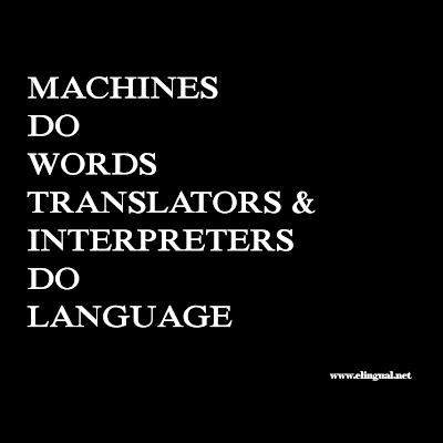 More than just freelancers...Translators and Interpreters are Professionals.