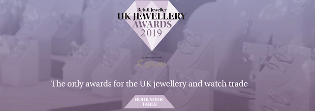 SHORTLIST ANNOUNCED - UK Jewellery Awards 2019  #UKJewelleryAwards #DailyJewel