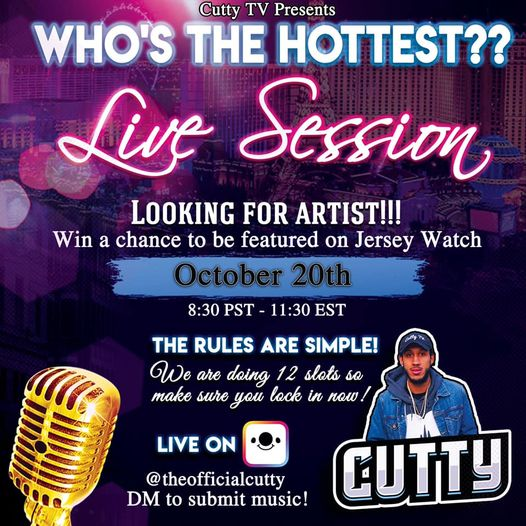 Who's The Hottest Live Session Winner : Sunnie - Fly Away W/ Trish Jane