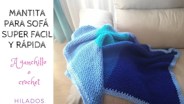 Manta de Retazos a Crochet