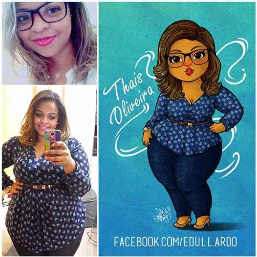 A Brazilian Artist Draws Powerful Portraits Of Curvy Women To Embrace Body Diversity