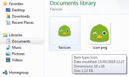 Favicon ICO
