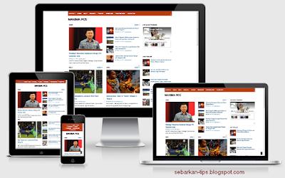 Maximapos Responsive Blogger Template