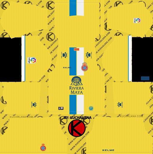2ee75d83c Espanyol 2018/19 Kit - Dream League Soccer Kits - Kuchalana