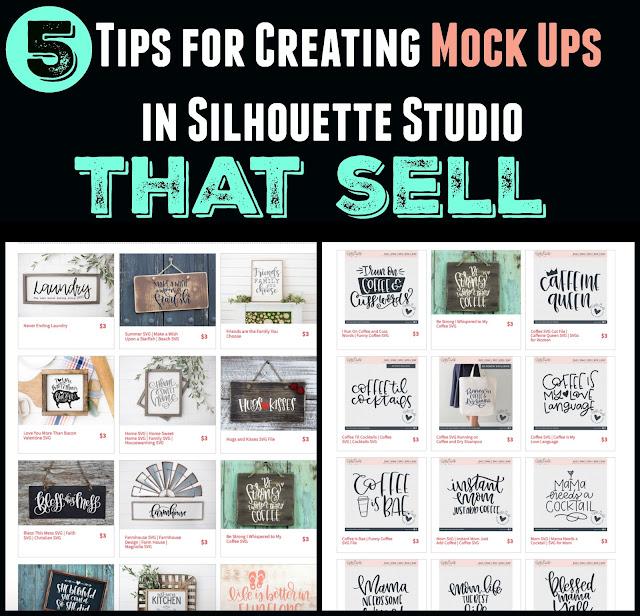 silhouette 101, silhouette america blog, mockup photo, mockup photos, silhouette studio