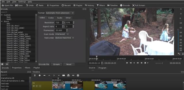 Shotcut Video Editing Software