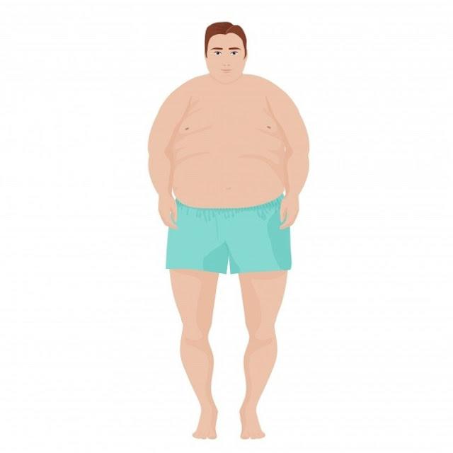 Λίπος σε όλο το άνω μέρος του σώματος