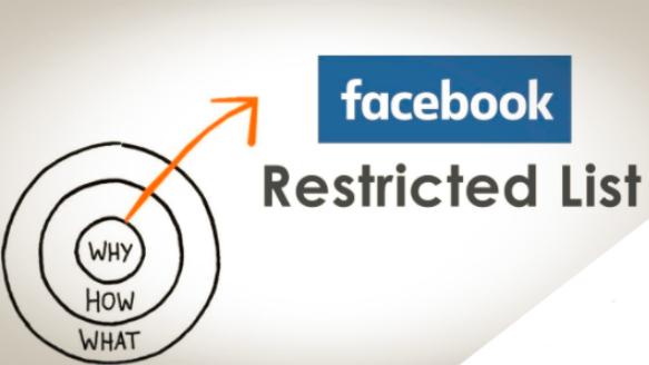 Restriction On Facebook