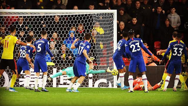 فوز جديد لتشيلسي لامبارد بهدفين لهدف علي واتفورد في الدوري الانجليزي