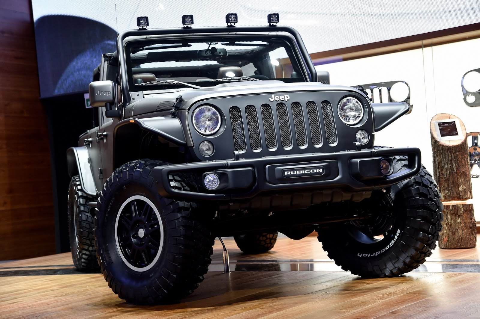 Jeep S New Wrangler Unlimited Rubicon Stealth Study And X