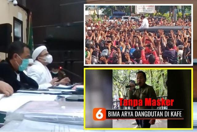 NAHLOH! [Sidang HR5] Ditunjukan Video Kerumunan Jokowi di Maumere dan Tik Tok Bima Arya