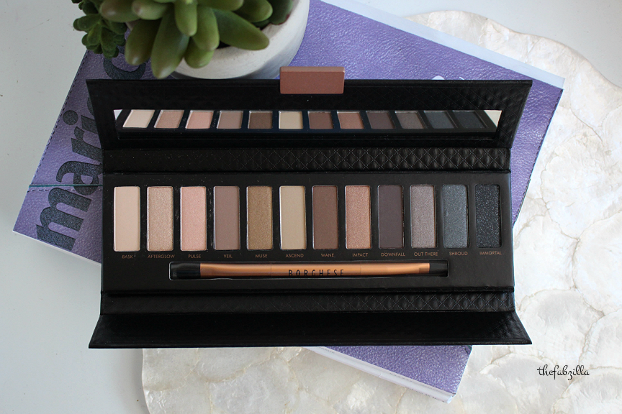 Borghese Eclissare Color Eclipse Shadow and Light Luminous Eye Palette, review, daytime smokey eyes