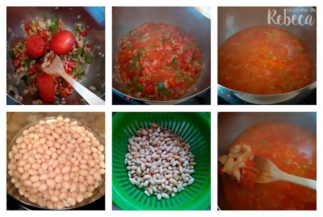 Receta de sopa de alubias con verdura: el guiso