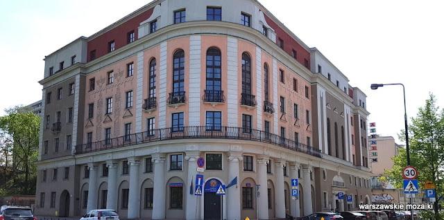 Warszawa Warsaw teatry Romuald Miller architektura Wybrzeże Kościuszkowskie art deco