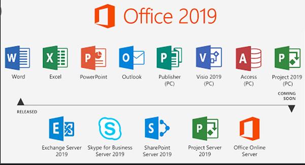 Tải Microsoft Office 2019 phiên bản mới nhất và cài đặt full miễn phí b