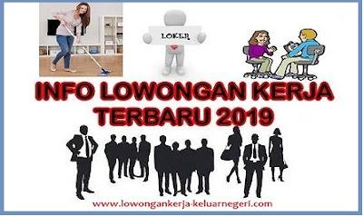 Info Lowongan Kerja Terbaru 2019-Info hub Ali Syarief Hp. 087781958889 - 081320432002