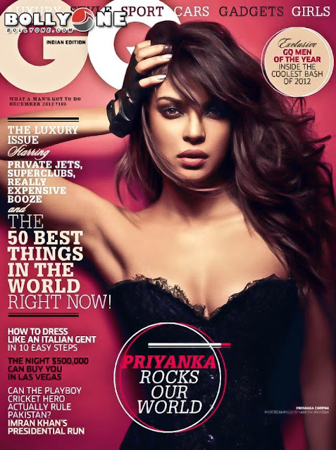 Priyanka Chopra GQ India Magazine
