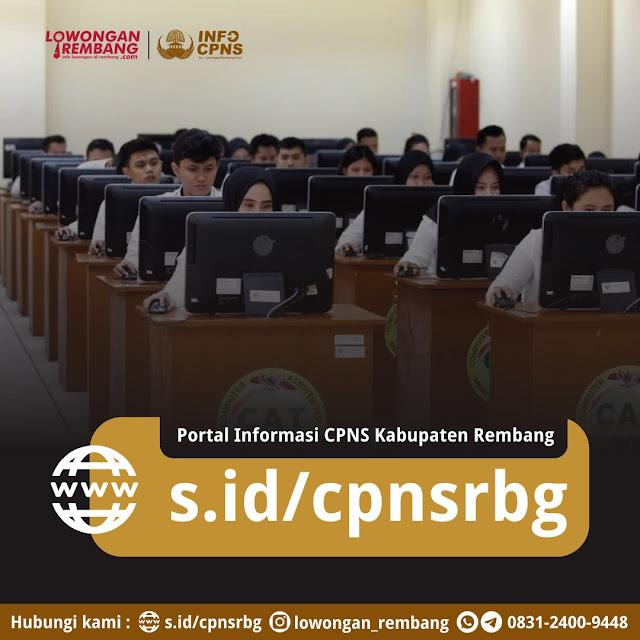 Portal Informasi CPNS PPK Kabupaten Rembang