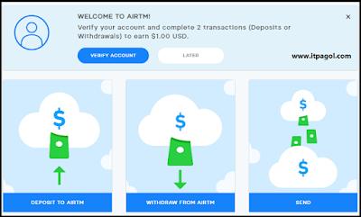 AirTM Dashboard
