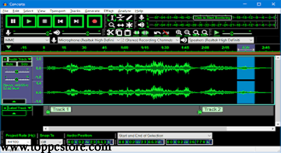 Free Download Audacity