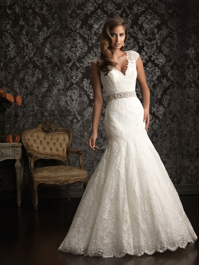 Allure Bridals Spring 2013 + My Dress of the Week - Belle The Magazine