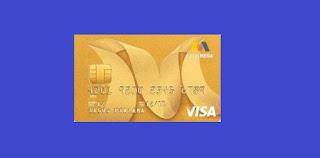 Gambar Kartu Kredit Bank Mega Visa Gold