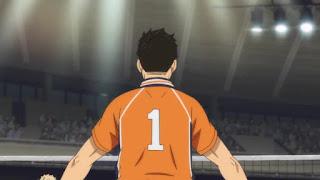 "Hellominju.com: ハイキュー!! アニメ第4期23話『静かなる王の誕生』   烏野VS稲荷崎   Haikyū!! Season4  EP.23""Birth of the Serene King""    Hello Anime !"