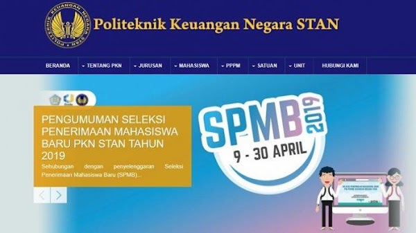 Persyaratan Pendaftaran PKN STAN 2019/2020