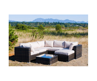 Kontiki Wicker Sectional Sets ~ Outdoor Furniture