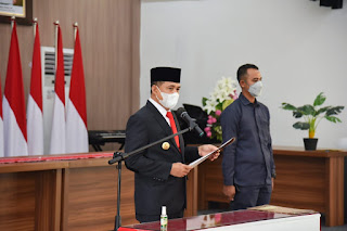 Bupati Batu Bara Lantik Anggota Badan Permusyawaratan Desa Tahap 2