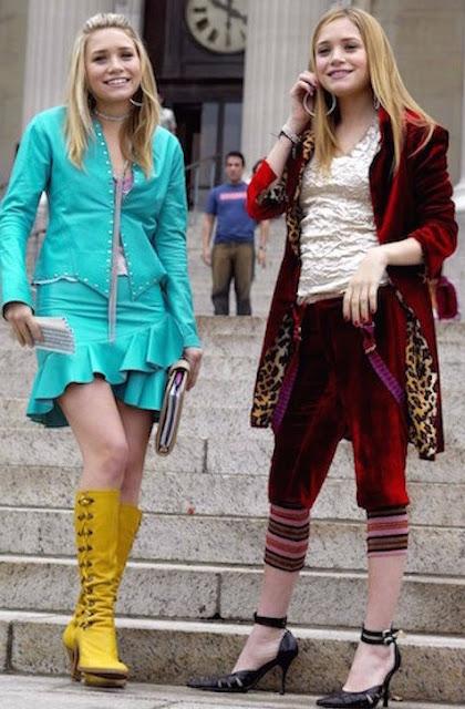 Tendências de New York Minute que estão na moda em 2020, Ashley e Mary Kate