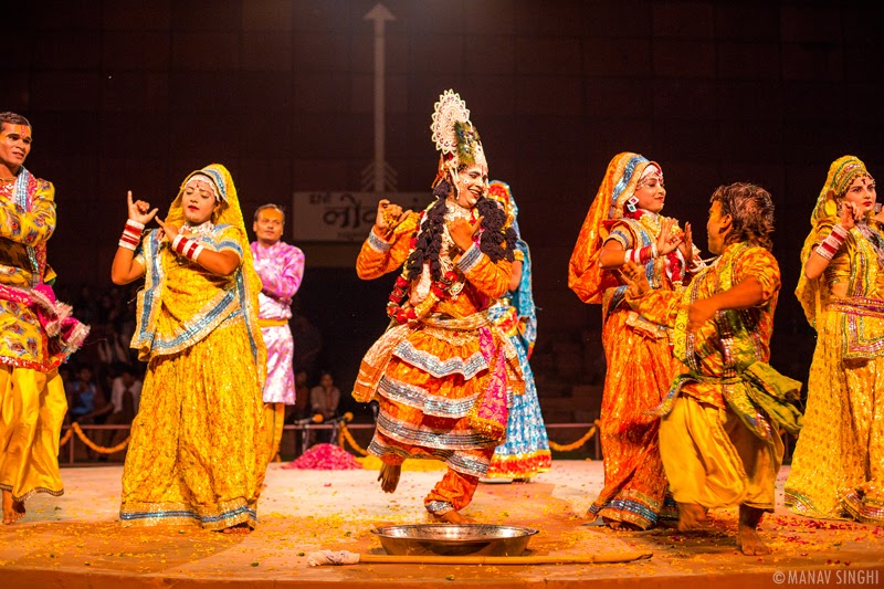 Phoolon ki Holi Folk Dance from Uttar Pradesh.