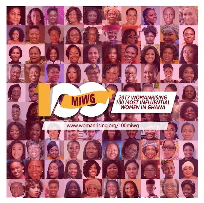 2017 WomanRising 100 Most Influential Ghanaian Women Announced