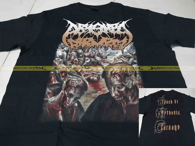 T-Shirt ABYSMAL TORMENT - Epoch Of Methodic Carnage