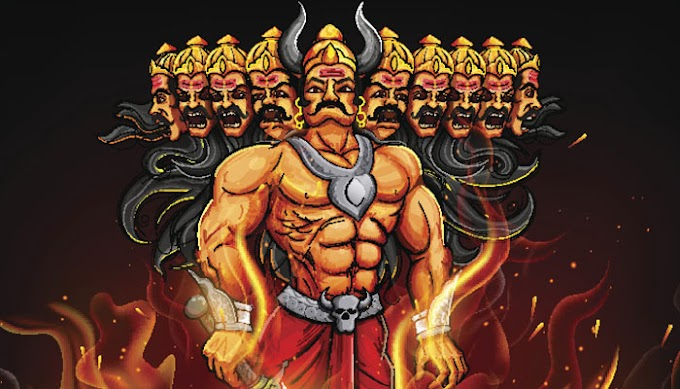 Why Ravan have 10 Heads and What Messgae do is Heads Give us