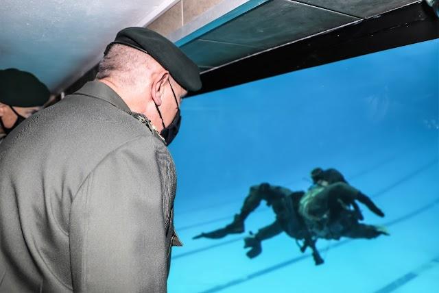 Παράδοση Στεγάστρου Κολυμβητηρίου Μάχης παρουσία Στρατηγού Φλώρου (ΦΩΤΟ)