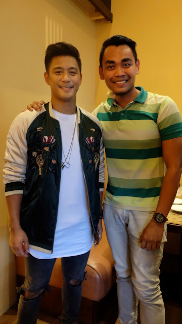 OPPO Influencer Rocco Nacino and FaceCebu Blogger, Mark Monta