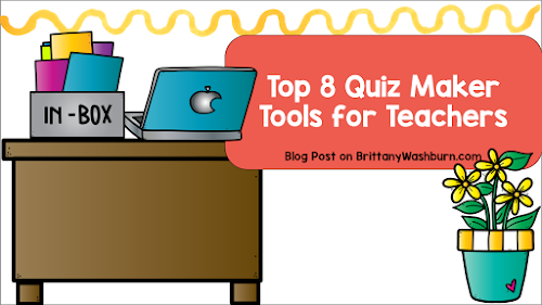 Paper quizzes and answer keys are so time consuming, and time is a commodity no teacher has an excess of.  These online quiz maker tools will help you get back a little .  Maybe you'll even get to drink that cup of coffee while it's still hot!