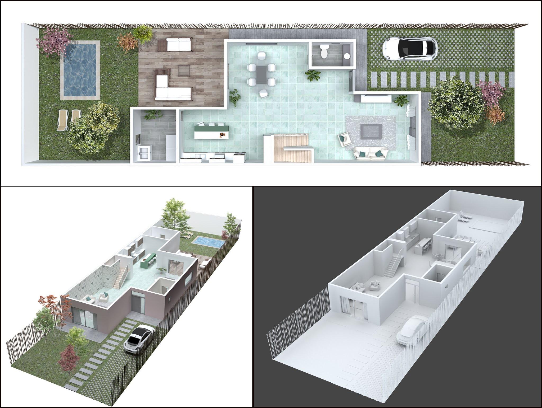 3D Floor House Plan