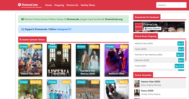 situs streaming drama korea dramacute