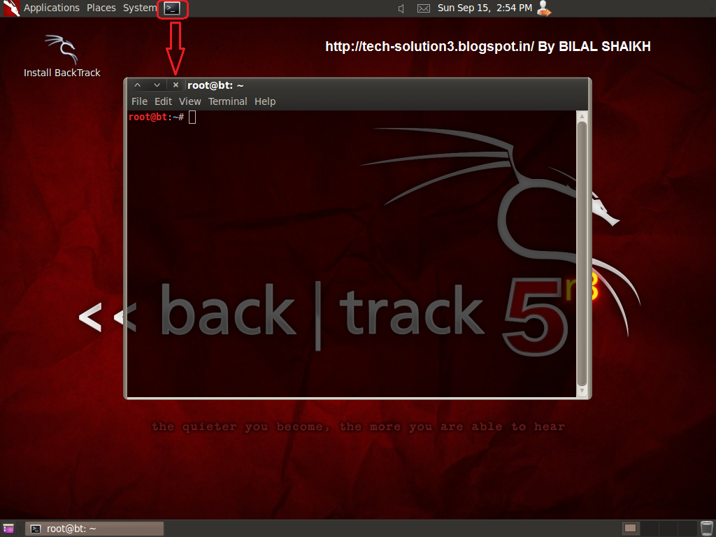Crack Windows xp/7/8 Password Using BACKTRACK 5 R3 - All Techno-Geeks