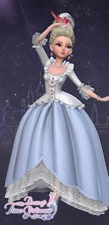 Blue Queen Marie Dress