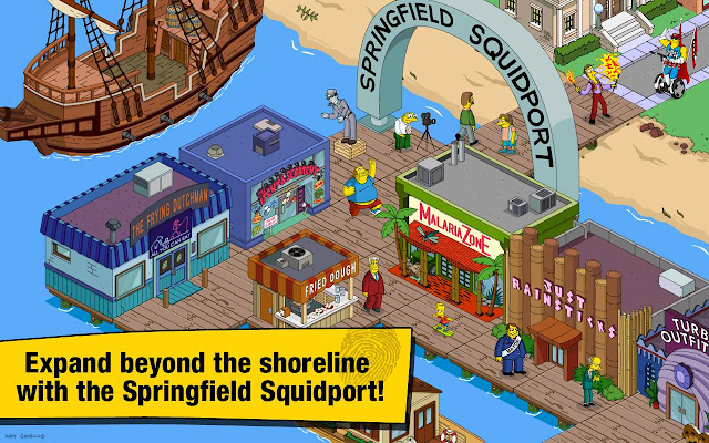 Screenshot The Simpsons Tapped Out