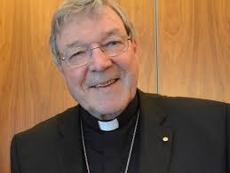 Cardinal Pell laughing