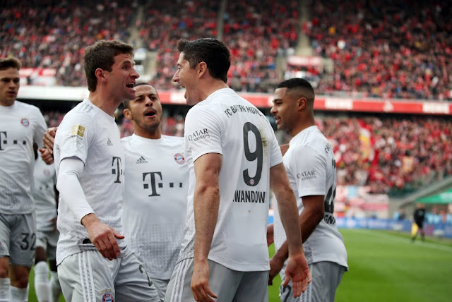 Video Cuplikan Gol: FC Koln 1-4 Bayern Munich (Bundesliga)