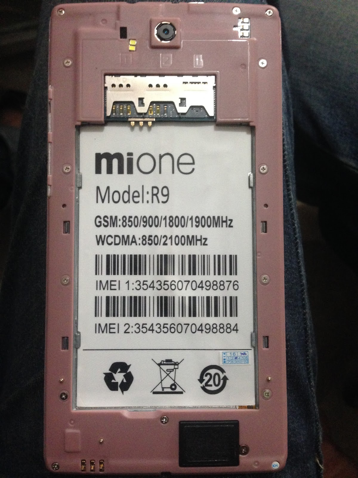 Mione X9 Flash File Firmware All Version Mt6580 50 Hang Logo
