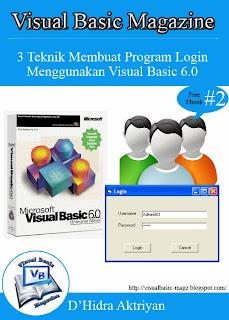 Download Free Ebook - 3 Teknik Membuat Program Login Menggunakan Visual Basic 6.0