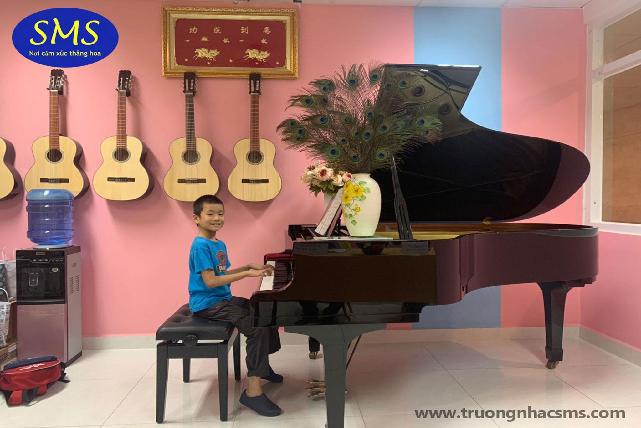 Học viên Piano Tường Minh