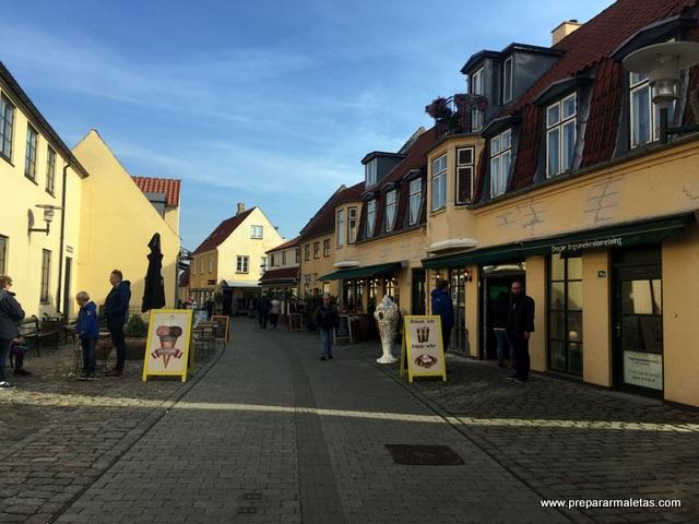 tiendas centro de Dragor Dinamarca